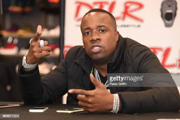 Rapper Yo Gotti attend his 'I Still Am' album in store CD signing at DTLR on November 2 2017 in Decatur Georgia