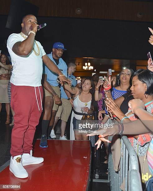 Rapper Yo Gotti performs at Ditch Fridays at Palms Pool & Dayclub on May 6, 2016 in Las Vegas, Nevada.