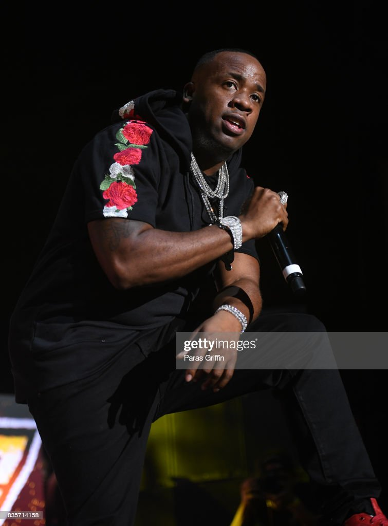 Rapper Yo Gotti performs onstage at Streetzfest 2K17 at Lakewood Amphitheatre on August 19, 2017 in Atlanta, Georgia.