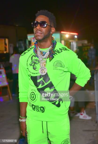 Rapper Young Dro attends The Shit Show at Compound on August 26, 2020 in Atlanta, Georgia.
