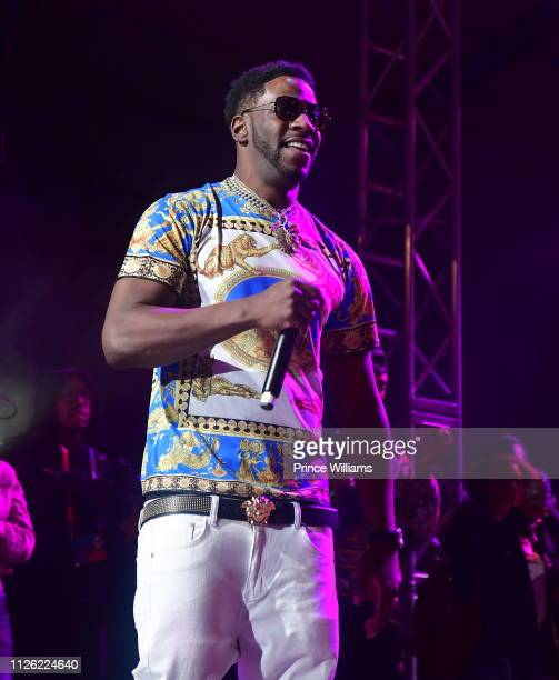 Rapper Young Dro performs at 2019 Super Bowl Live at Centennial Olympic Park on January 26, 2019 in Atlanta, Georgia.