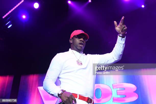 Rapper Young Dro performs onstage at 3rd Annual V-103 Winterfest Concert at Philips Arena on December 16, 2017 in Atlanta, Georgia.