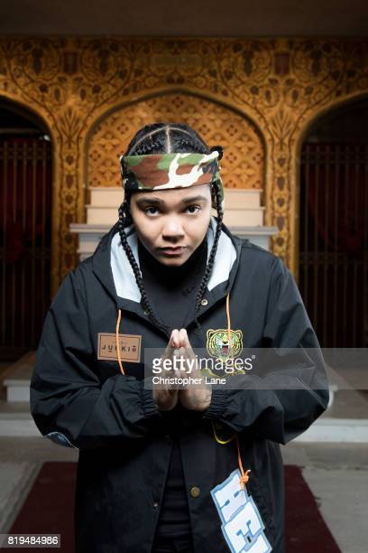 Rapper Young MA is photographed for The Guardian Newspaper on May 12 2017 in Yonkers New York PUBLISHED IMAGE