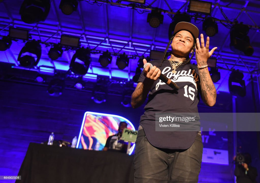 Rapper Young M.A. performs onstage during Pandora at SXSW 2017 on March 16, 2017 in Austin, Texas.