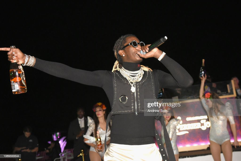 Young Thug Performs At L'Eden By Perrier-Jouët In Miami Beach : News Photo