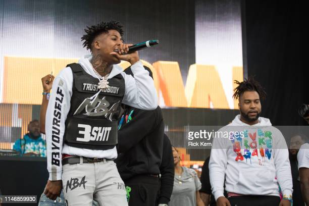 Rapper YoungBoy Never Broke Again performs onstage during JMBLYA at Fair Park on May 03 2019 in Dallas Texas
