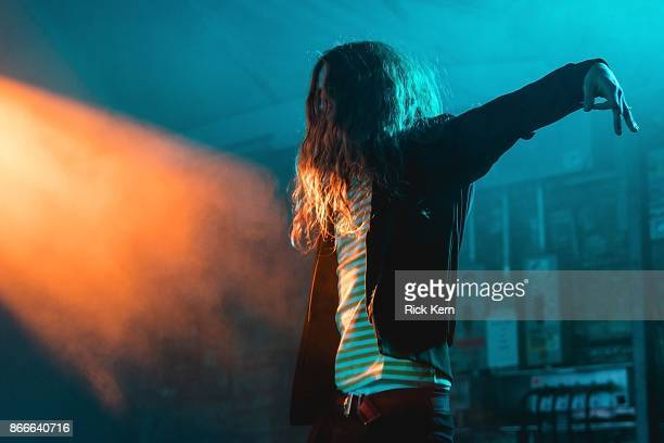 Rapper Yung Pinch performs in concert at Stubb's BarBQ on October 25 2017 in Austin Texas