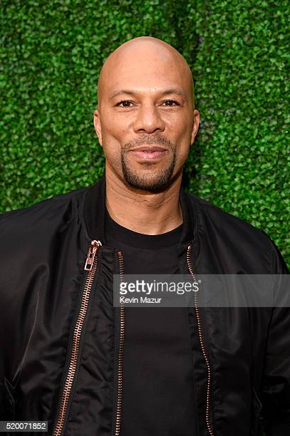 Rapper/actor Common attends the 2016 MTV Movie Awards at Warner Bros Studios on April 9 2016 in Burbank California MTV Movie Awards airs April 10...