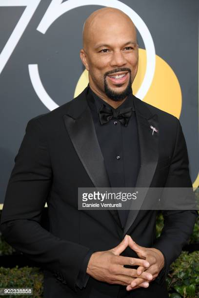 Rapper/Actor Common attends The 75th Annual Golden Globe Awards at The Beverly Hilton Hotel on January 7 2018 in Beverly Hills California