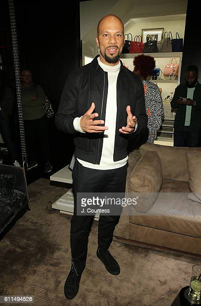 """Rapper/actor Common attends the Common """"Black America Again"""" Listening Party at Material Good on September 29, 2016 in New York City."""