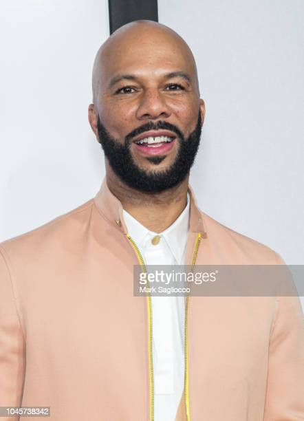 Rapper/Actor Common attends The Hate U Give New York Screening at the Paris Theatre on October 4 2018 in New York City