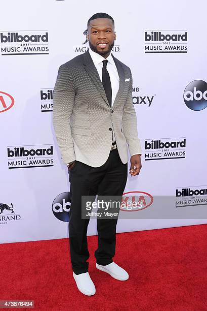 Rapper/actor Curtis '50 Cent' Jackson arrives at the 2015 Billboard Music Awards at the MGM Grand Garden Arena on May 17 2015 in Las Vegas Nevada