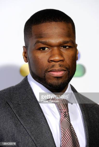 Rapper/Actor Curtis Jackson arrives at the American Giving Awards Presented By Chase at Dorothy Chandler Pavilion on December 9, 2011 in Los Angeles,...