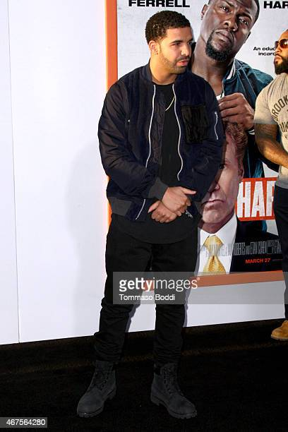 """Rapper/Actor Drake attends the """"Get Hard"""" Los Angeles premiere held at the TCL Chinese Theatre IMAX on March 25, 2015 in Hollywood, California."""
