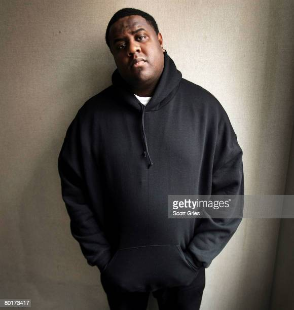 Rapper/actor Jamal Gravy Woolard poses for a portrait March 5 2008 in New York City Woolard has recently been cast to star as Christopher Wallace aka...