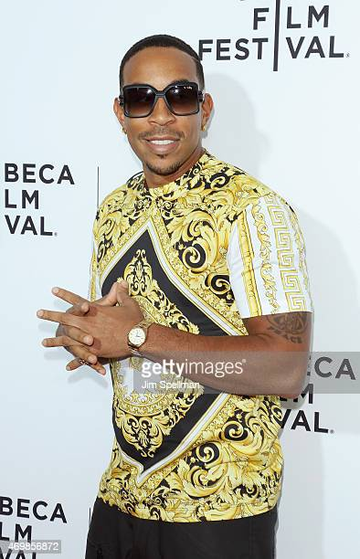 Rapper/actor Ludacris attends the world premiere of Live From New York during the 2015 Tribeca Film Festival at The Beacon Theatre on April 15 2015...