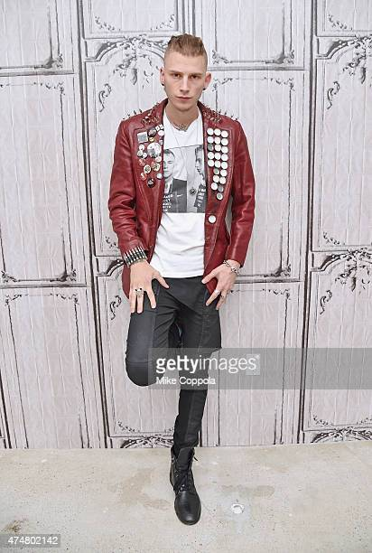 Rapper/actor Machine Gun Kelly attends the AOL BUILD Speaker Series: Machine Gun Kelly at AOL Studios In New York on May 26, 2015 in New York City.