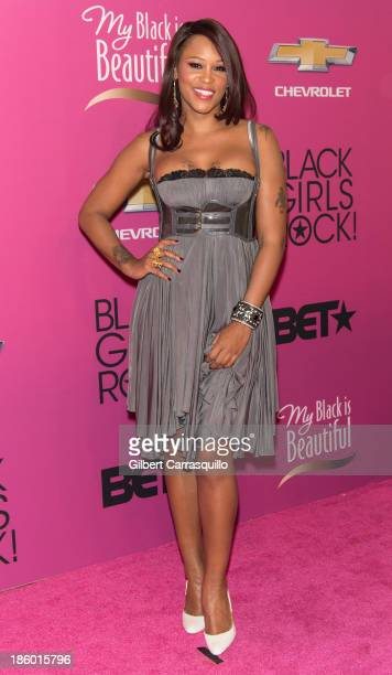 Rapper/actress Eve attends Black Girls Rock 2013 at New Jersey Performing Arts Center on October 26 2013 in Newark New Jersey