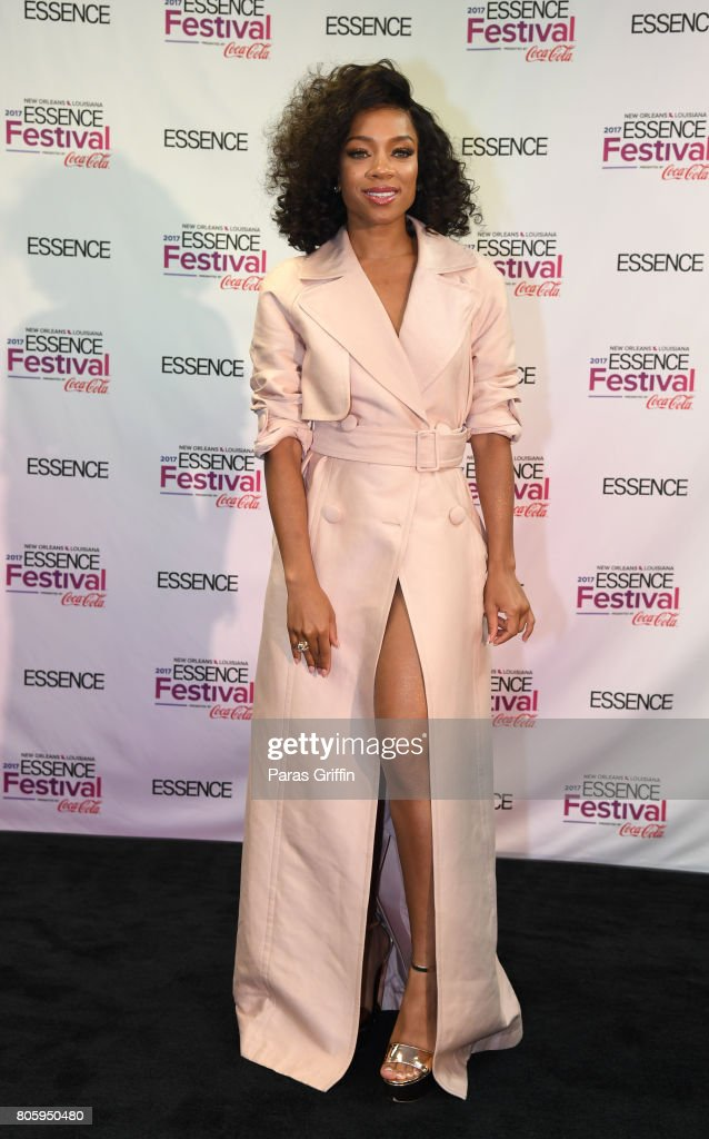 Rapper/actress Lil Mama at 2017 Essence Festival at Mercedes-Benz Superdome on July 2, 2017 in New Orleans, Louisiana.