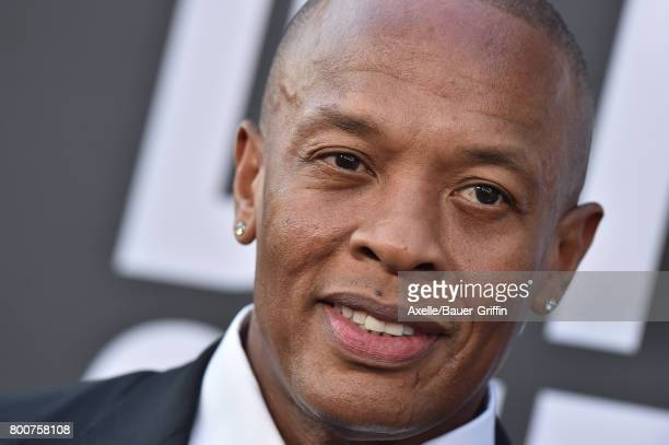 Rapper/producer Dr Dre arrives at the premiere of 'The Defiant Ones' at Paramount Theatre on June 22 2017 in Hollywood California