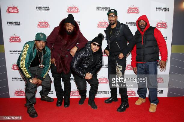 Rappers Cappadonna Ghostface Killah UGod Rza and Masta Killa of the WuTang Clan attends the new SHOWTIME Docuseries WuTang Clan Of Mics Men...