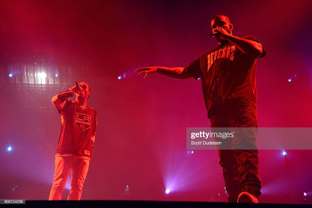 Drake And Future Perform At Staples Center : News Photo