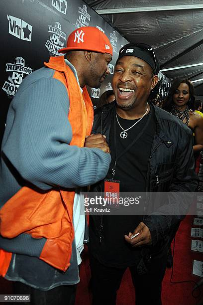 Rappers Ghostface Killah and Chuck D attend the 2009 VH1 Hip Hop Honors at the Brooklyn Academy of Music on September 23 2009 in the Brooklyn borough...