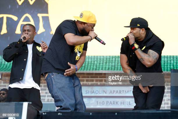 Rappers GZA Ghostface Killah and Method Man of the group WuTang Clan performs live onstage during 2017 Governors Ball Music Festival Day 2 at...