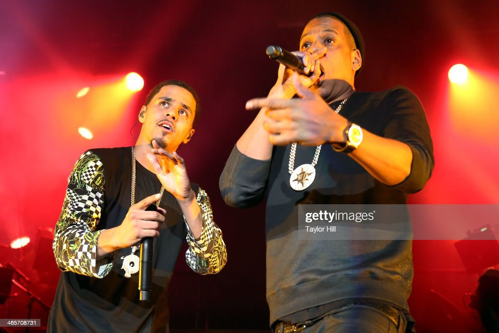 Captivating Rappers J. Cole And Jay Z Perform In Concert At Madison Square Garden On  January Gallery