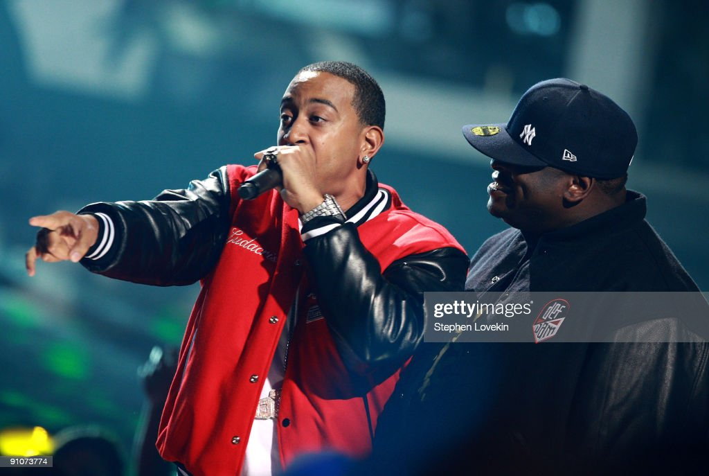 Rappers Ludacris and Scarface perform onstage at the 2009 VH1 Hip Hop Honors at the Brooklyn Academy of Music on September 23, 2009 in the Brooklyn borough of New York City.