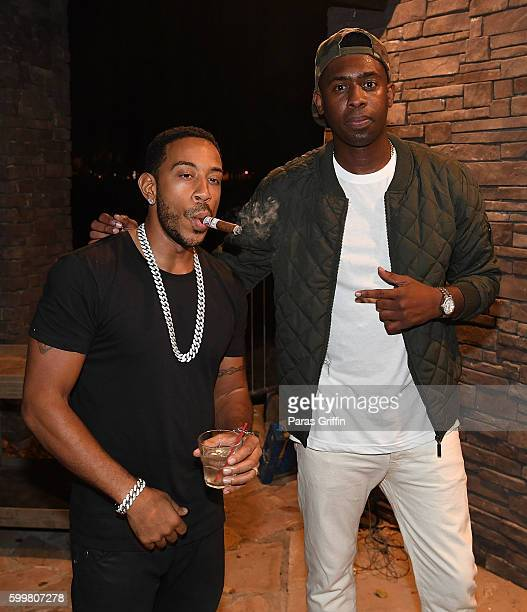 Rappers Ludacris and Silk The Shocker attend ATL Live On The Park: Hip-Hop Soul Edition at Park Tavern on September 6, 2016 in Atlanta, Georgia.