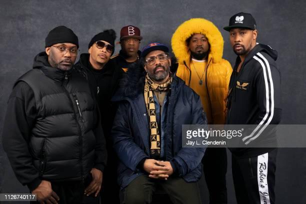 Rappers Masta Killa UGod Cappadonna director Sacha Jenkins Ghostface Killah and RZA from 'WuTang Clan Of Mics and Men' are photographed for Los...