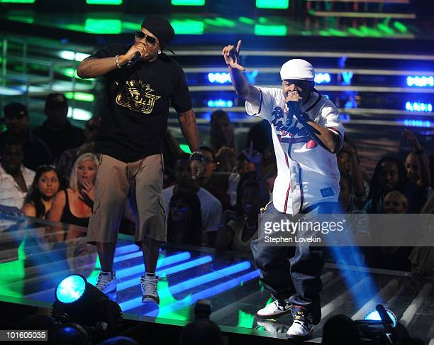 Rappers Nelly and Murphy Lee performs onstage at the 2010 Vh1 Hip Hop Honors at Hammerstein Ballroom on June 3 2010 in New York City