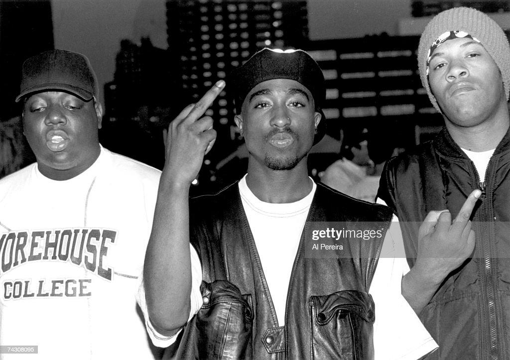 Tupac Shakur At Club Amazon : Fotografia de notícias