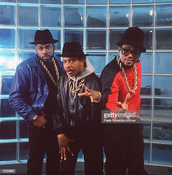 Rappers Run DMC photographed in New York 1988 Photo by Frank Micelotta/ImageDirect