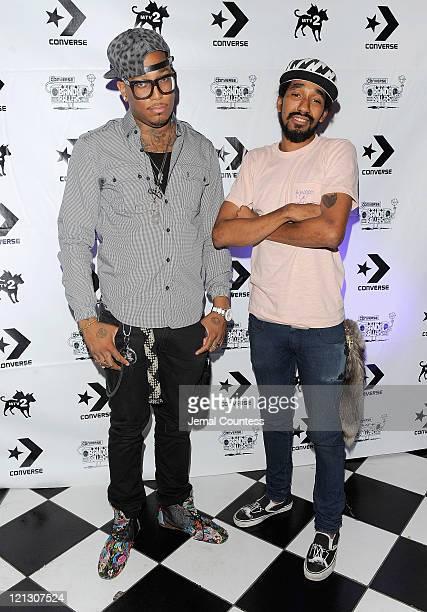 Rappers Telli Michaels and Jah Jah Brown of Ninjasonik at