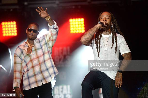 Rappers YG and Ty Dolla $ign perform onstage during the 923 Real Show at The Forum on November 5 2016 in Inglewood California