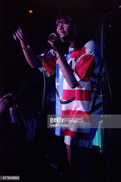 Rapper/Singer Tink performs as part of NXNE Wednesday Presented by Red Bull Sound Select at Adelaide Hall on June 17 2015 in Toronto Canada