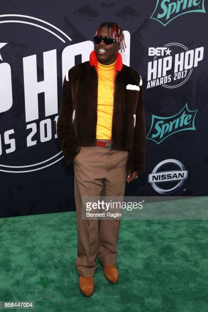 Rappper Lil Yachty attends the BET Hip Hop Awards 2017 at The Fillmore Miami Beach at the Jackie Gleason Theater on October 6, 2017 in Miami Beach,...