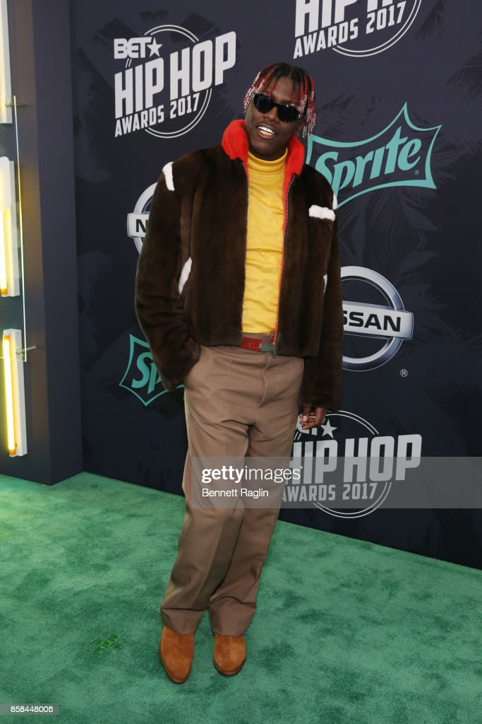 Rappper Lil Yachty attends the BET Hip Hop Awards 2017 at The Fillmore Miami Beach at the Jackie Gleason Theater on October 6, 2017 in Miami Beach, Florida.