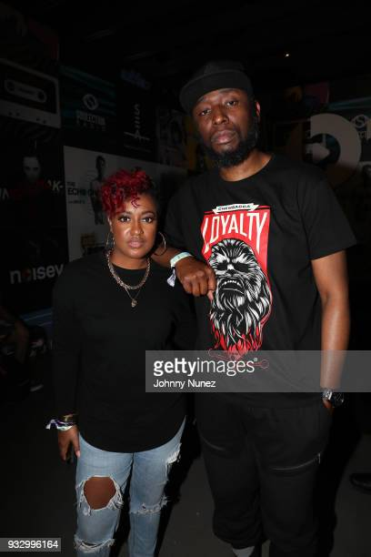 Rapsody and 9th Wonder attend The Fader Fort 2018 Day 3 on March 16 2018 in Austin Texas