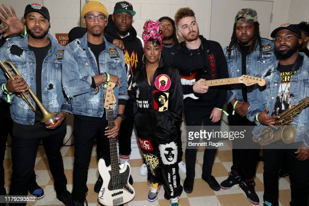 Rapsody and her band attend the BET Hip Hop Awards 2019 at Cobb Energy Center on October 05 2019 in Atlanta Georgia