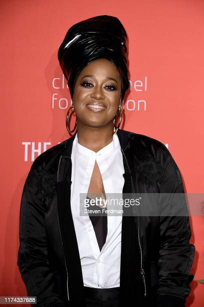 Rapsody attends Rihanna's 5th Annual Diamond Ball at Cipriani Wall Street on September 12 2019 in New York City