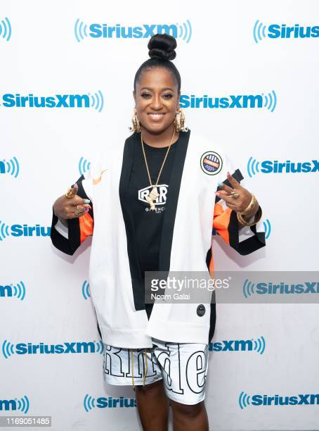 Rapsody attends 'SiriusXM Pandora Present Rapsody' on Hip Hop Nation on August 19 2019 in New York City
