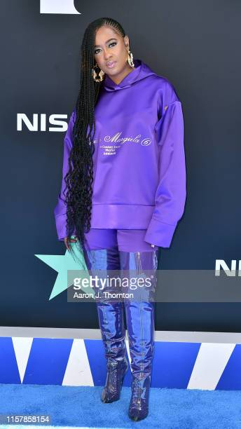 Rapsody attends the 2019 BET Awards at Microsoft Theater on June 23 2019 in Los Angeles California