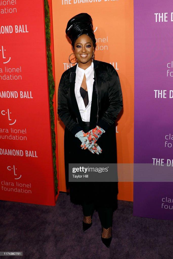 Rihanna's 5th Annual Diamond Ball : News Photo