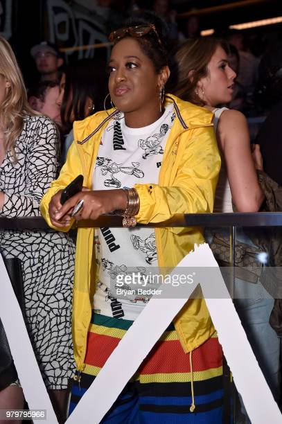 Rapsody attends the PUMA Basketball launch party at 40 40 Club on June 20  2018 8ea9addaa