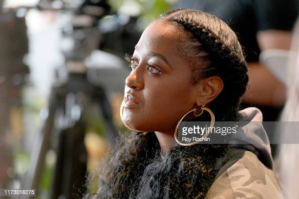 Rapsody attends the Remix Hip Hop panel as a part of NYFW The Talks during New York Fashion Week The Shows at Spring Studios on September 07 2019 in...
