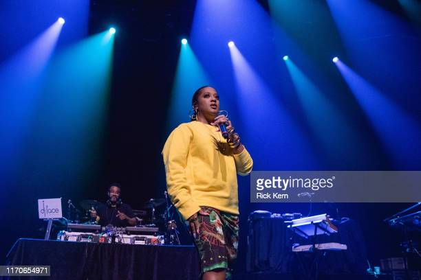 Rapsody performs in concert during the 'Let Love Tour' at ACL Live on August 27 2019 in Austin Texas