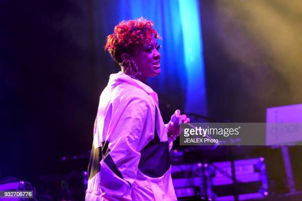 Rapsody performs onstage at ICM All Female Event during SXSW at The Belmont on March 15 2018 in Austin Texas